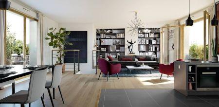 logement neuf intérieur QUINTESSENCE - MEUDON