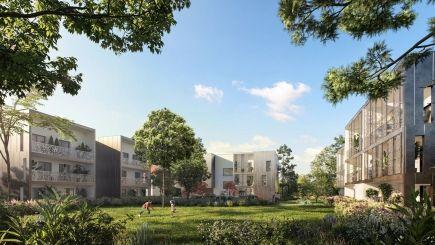 logement neuf extérieur LE CHANT DES ARBRES - TASSIN LA DEMI LUNE