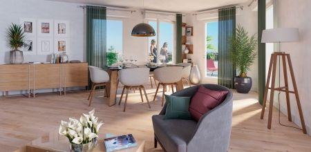 logement neuf intérieur SEQUANA - BEZONS