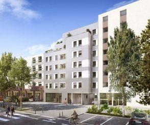 logement neuf extérieur PASSAGE DU JOUR - LYON 05