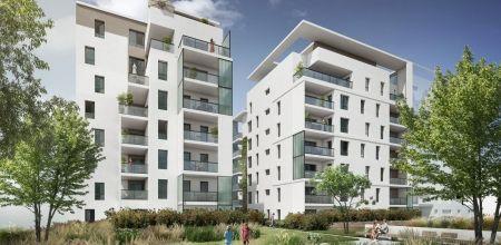 logement neuf extérieur ECRIN II LUMIERE - LYON 08