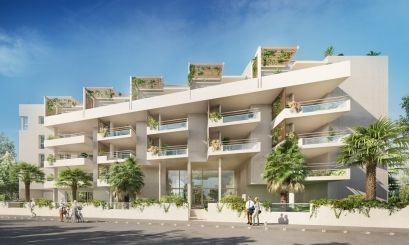logement neuf extérieur 3 AVENUE DE LA PLANCHE - MARSEILLE 08