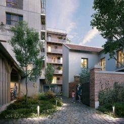 logement neuf extérieur L'INSOLITE - PARIS 20