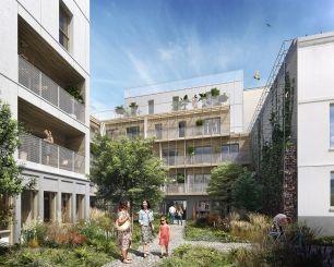 logement neuf extérieur 2 L'INSOLITE - PARIS 20