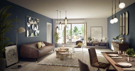 logement neuf intérieur 1 L'INSOLITE - PARIS 20