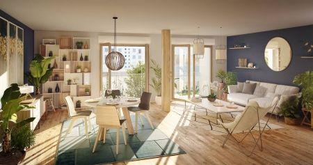 logement neuf intérieur L'INSOLITE - PARIS 20