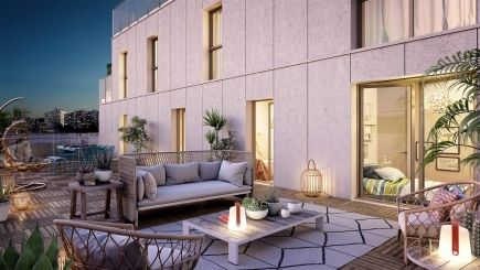 logement neuf extérieur 3 L'INSOLITE - PARIS 20