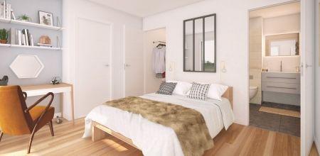 logement neuf intérieur NEW G - PARIS 13