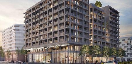 logement neuf extérieur NEW G - PARIS 13