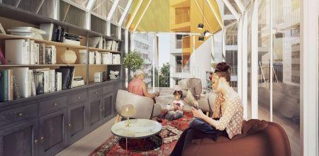 logement neuf intérieur 1 NEW G - PARIS 13
