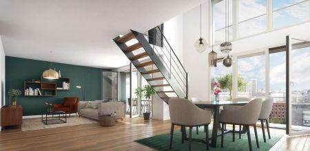 logement neuf intérieur 2 NEW G - PARIS 13