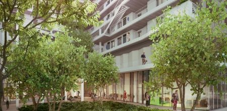 logement neuf extérieur 6 NEW G - PARIS 13