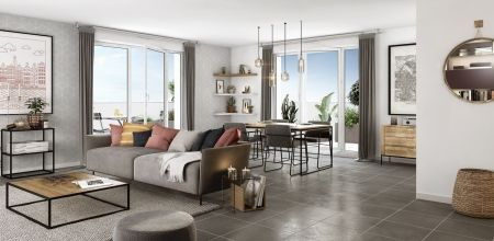 logement neuf intérieur IDYLLE EN VILLE - VILLEURBANNE