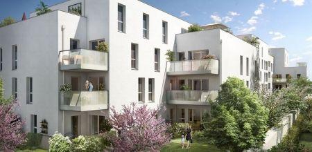 logement neuf extérieur IDYLLE EN VILLE - VILLEURBANNE