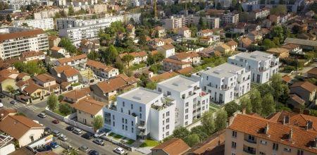 logement neuf extérieur 1 IDYLLE EN VILLE - VILLEURBANNE