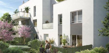 logement neuf extérieur 2 IDYLLE EN VILLE - VILLEURBANNE
