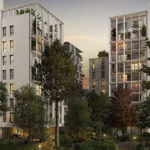 logement neuf extérieur L'INSTANT - CLICHY LA GARENNE