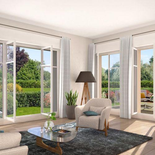 logement neuf extérieur LE DOMAINE DU PARC - VILLE D'AVRAY