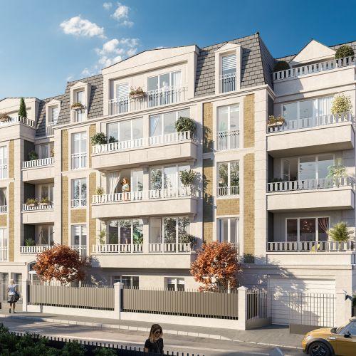 logement neuf extérieur Villa du Chénay  - Gagny