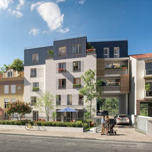 logement neuf extérieur 2 A'tmosphère - Sainte-Geneviève-des-Bois