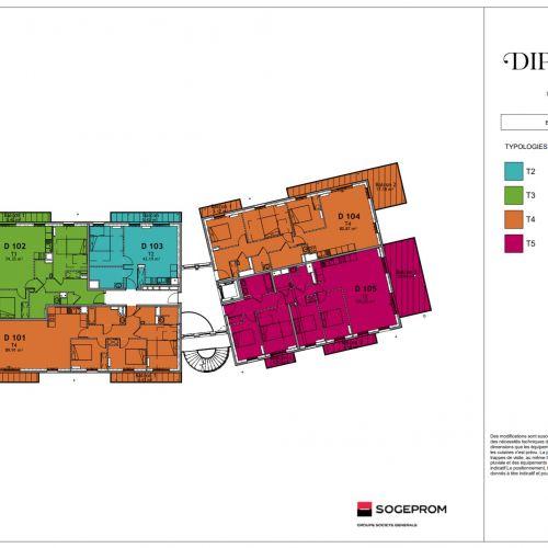 logement neuf plan 23 Diptyque - LE VESINET