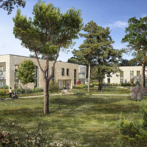logement neuf extérieur 1 Le Parc Habité - Pessac