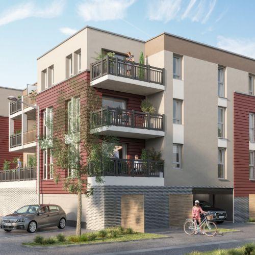 logement neuf extérieur La belle Eugénie - BERCK