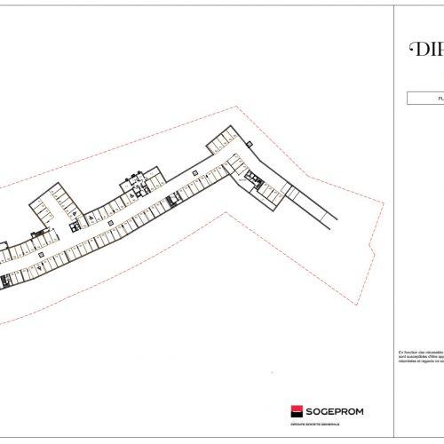logement neuf plan 6 Diptyque - LE VESINET
