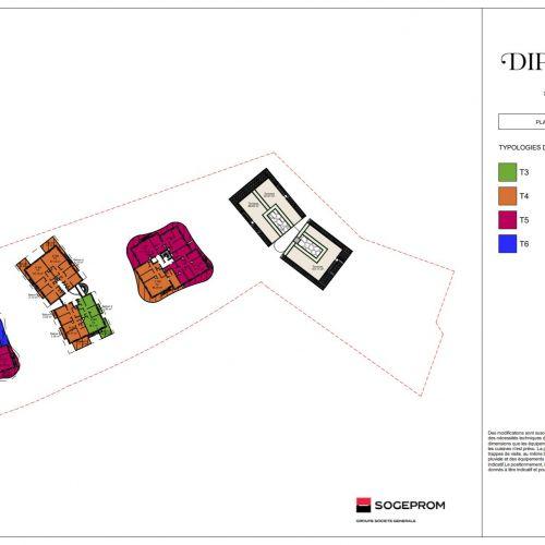 logement neuf plan 5 Diptyque - LE VESINET