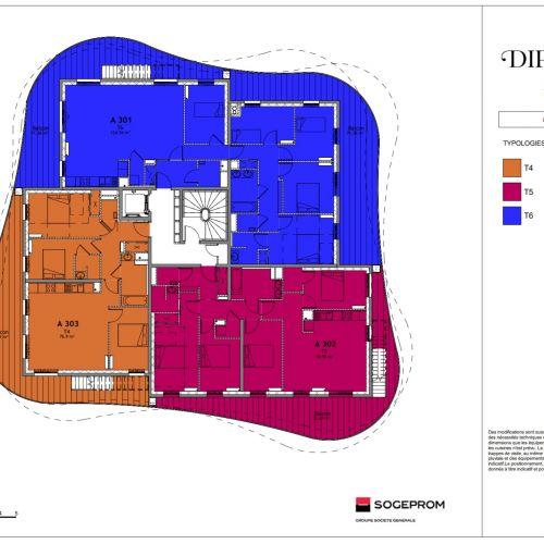 logement neuf plan 10 Diptyque - LE VESINET