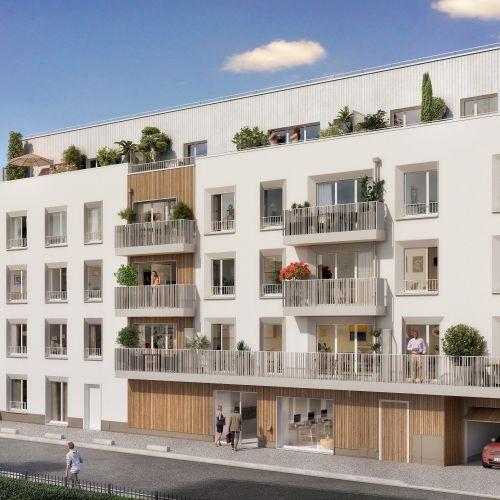 logement neuf extérieur Intervalle - Drancy