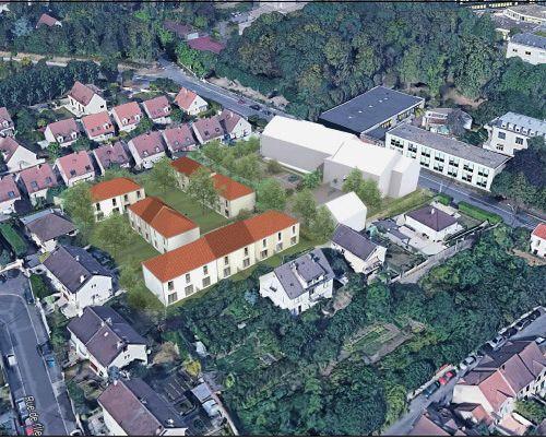 logement neuf extérieur LES JARDINS DE RAPHAEL - GONESSE