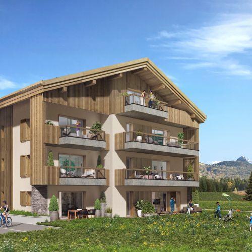 logement neuf extérieur Le 7 - Samoëns - Etelley