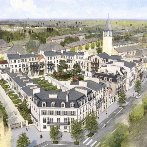 logement neuf extérieur 3 Au temps du Faubourg - SERRIS