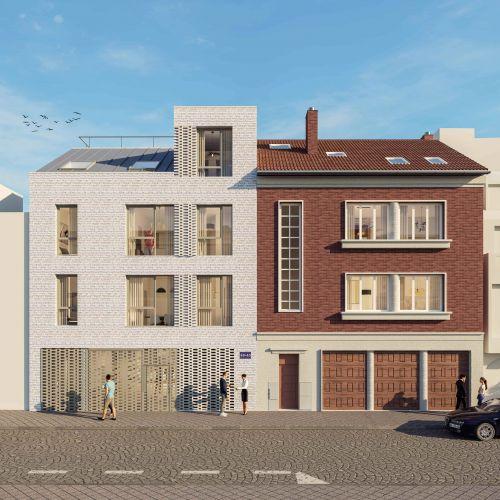 logement neuf extérieur 2 La Cour Ferber - PARIS 20ème