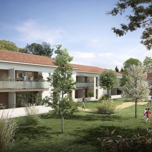 logement neuf extérieur Oxalis - FROUZINS