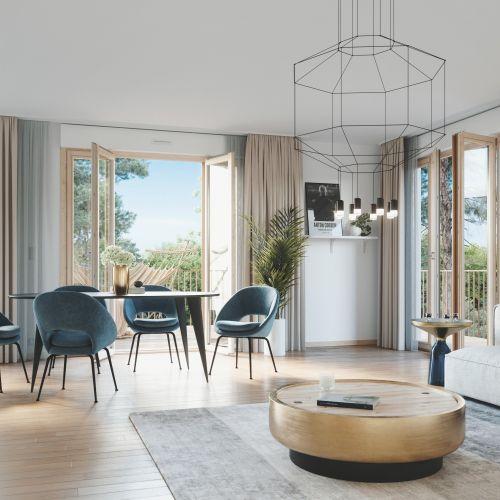 logement neuf intérieur Diptyque - LE VESINET