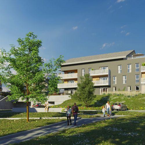 logement neuf extérieur L'Ermengarde - Charvonnex