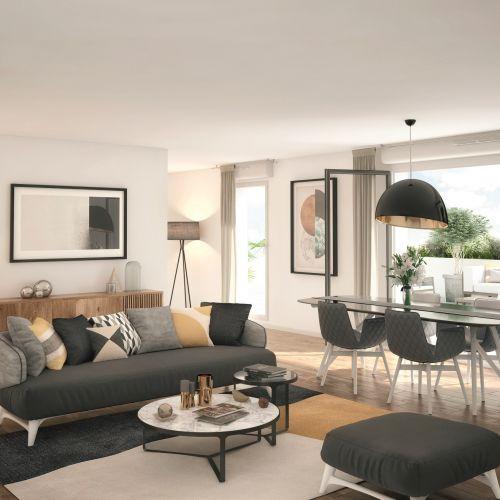 logement neuf intérieur LE 133 - HEM