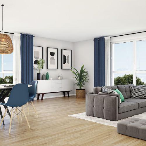 logement neuf intérieur Les Bruyères - THOIRY