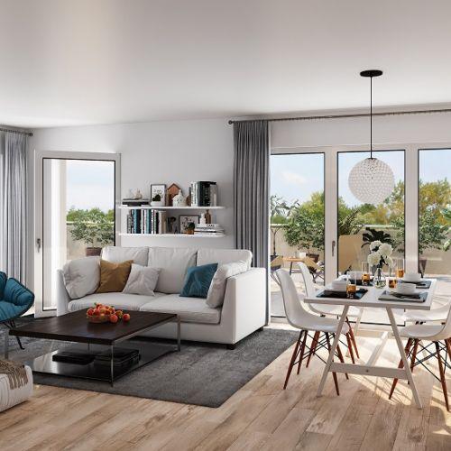 logement neuf intérieur Les Martelières - Hyères