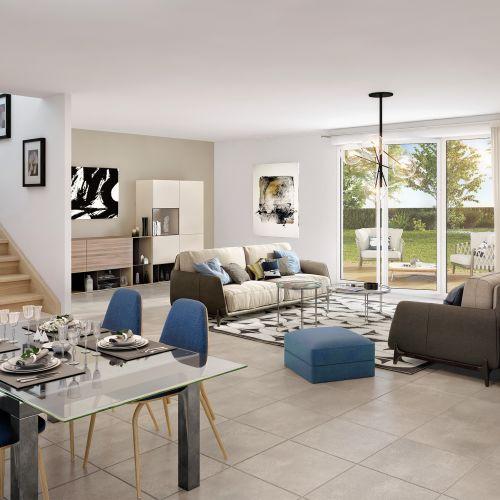 logement neuf extérieur Coté Parc - SAUTRON