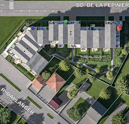 logement neuf extérieur Le 41 - Villepinte