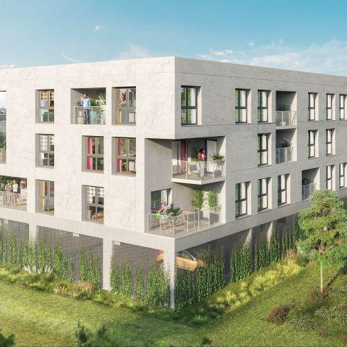 logement neuf extérieur 2 Couleur Nature - AMIENS