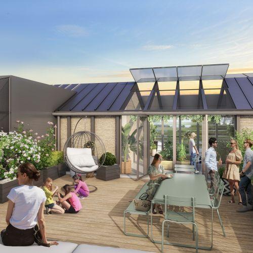 logement neuf extérieur Atelier Dulamon - BORDEAUX