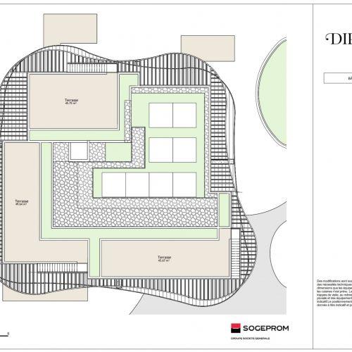 logement neuf plan 21 Diptyque - LE VESINET