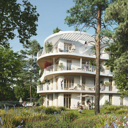 logement neuf extérieur Diptyque - LE VESINET