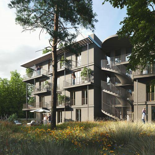 logement neuf extérieur 1 Diptyque - LE VESINET