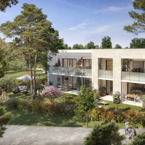 logement neuf extérieur Le Parc Habité - Pessac