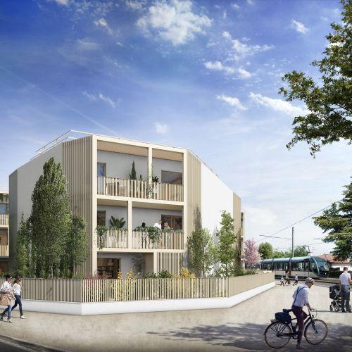 logement neuf extérieur TANDEM - EYSINES